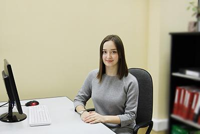 Анастасия - помощник главного бухгалтера